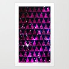 Through Space Art Print