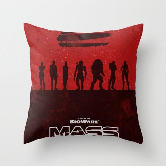 Mass Effect 1 Throw Pillow