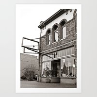 Art Print featuring South Tacoma studio by Vorona Photography