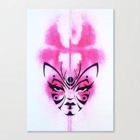Kabuki Kreature Canvas Print