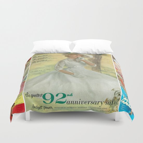 1957 Spring/Summer Catalog Cover Duvet Cover
