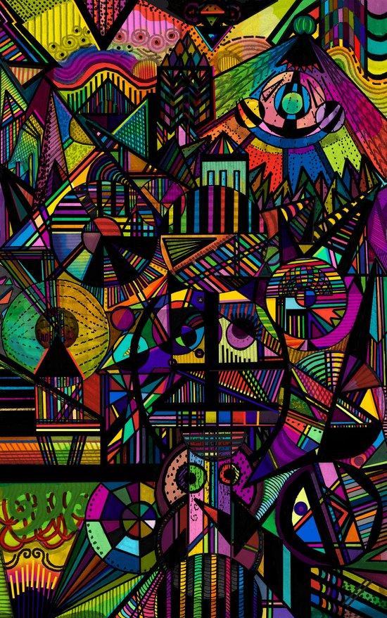 Ode to Colour Art Print
