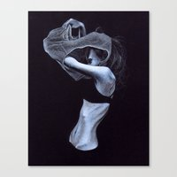Undress Canvas Print