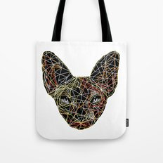 Geometry Sphynx Tote Bag