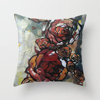 Roses 4423 Throw Pillow