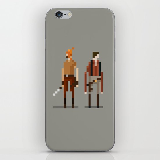 Brains and Brawn iPhone & iPod Skin