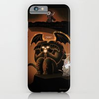 iPhone & iPod Case featuring Wizardly Shenanigans by Anna-Maria Jung