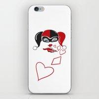 Harley Kiss iPhone & iPod Skin