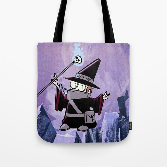 Harold the Evil Necromancer Tote Bag