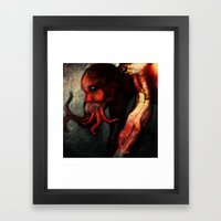 Are you there Cthulu? it's me... Framed Art Print
