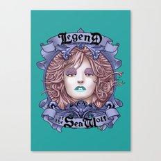 Legend of the Sea Wolf (alt-colour) Canvas Print