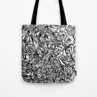 Conquer (Black & White Version)  Tote Bag