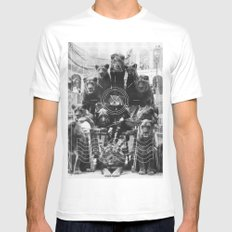 L'octole XIV SMALL White Mens Fitted Tee