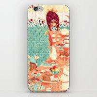 Alice's Tea Party iPhone & iPod Skin