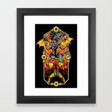 Epic Super Metroid Framed Art Print