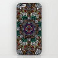 Hallucination Mandala 4 iPhone & iPod Skin