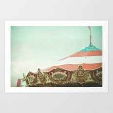 At The Carnival Art Print
