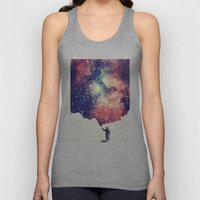 Painting the universe Unisex Tank Top
