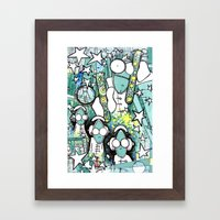 Visuals of Inexplicable Maybe, Act 1 Framed Art Print