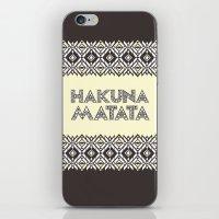 SAWASAWA 1 iPhone & iPod Skin