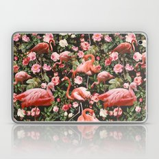 Floral and Flemingo Pattern Laptop & iPad Skin