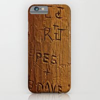 Carved Love iPhone 6 Slim Case