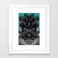 TRANSITORY Framed Art Print
