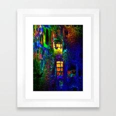 Funhouse 2. Version Framed Art Print