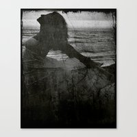 The Tale of a Mermaid Canvas Print