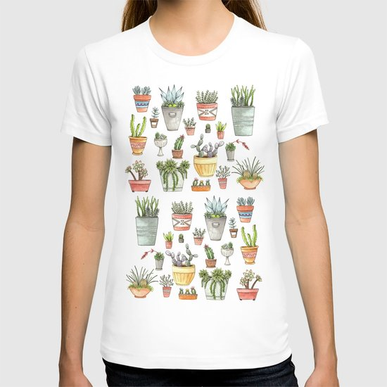 Potted Succulents T-shirt