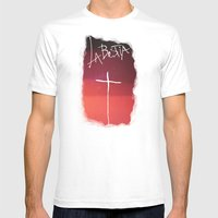 La Bestia Mens Fitted Tee White SMALL