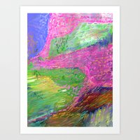 Lyrical Landscape Art Print