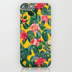 Summer Botanical Pattern iPhone 6 Slim Case