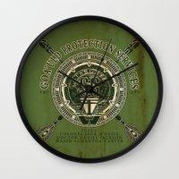 Goa'uld Protection Servi… Wall Clock