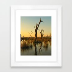 Water Dancers Framed Art Print