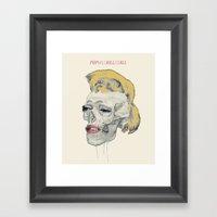Pop Will Kill Us All Framed Art Print