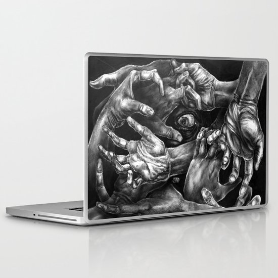 Getting Handsy (smothering, groping, hands) Laptop & iPad Skin