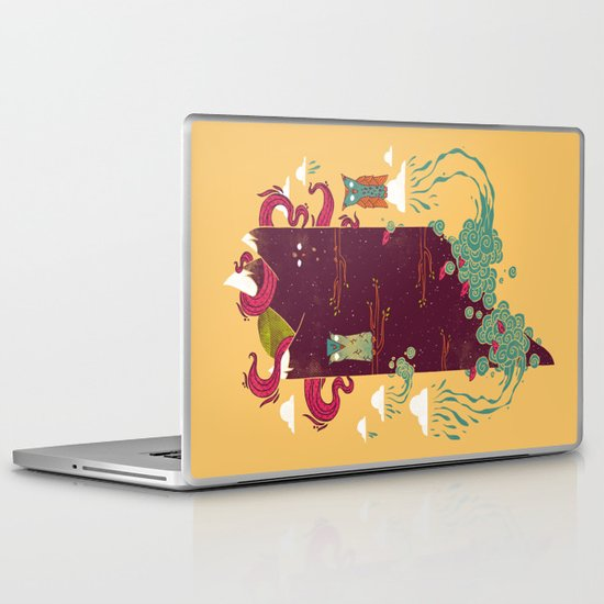 Nighttime Laptop & iPad Skin