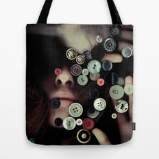 TRAPPED BUTTONS Tote Bag