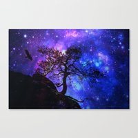 Into  The Space Canvas Print