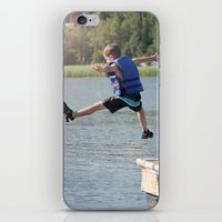 Harry Leaps! iPhone & iPod Skin