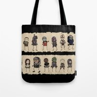Mass Effect 2 Normandy crew Tote Bag