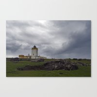 Eshaness Lighthouse Canvas Print