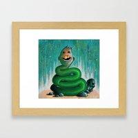 Strange Character #1 Framed Art Print
