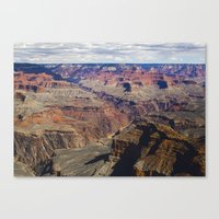 The Grand Canyon South Rim Canvas Print