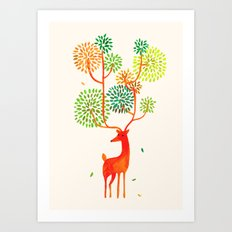For The Tree Is The Fore… Art Print