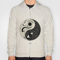 - yin & yang - [collaborative art with famenxt] Hoody