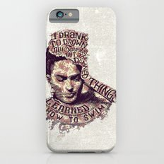 Frida Kahlo Flowers iPhone 6 Slim Case