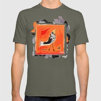 Crow Mens Fitted Tee Lieutenant SMALL