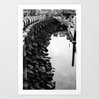 Along The Shore Art Print